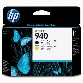 HP Atramentová cartridge HP Officejet, C4900A, black a yellow, No. 940, tlačová hláv% - originál