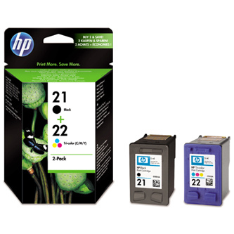 Cartridge HP 21+ HP 22, HP SD367AE% - originál