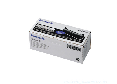 Panasonic Toner panasonic čierny, KX-FA87E, 2500s, O% - originál