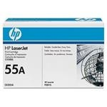 HP Tonerová cartridge HP Color LaserJet P3015, black, CE255A, 6000s, O% - originál