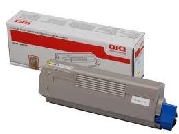 Oki Toner OKI C610, yellow, 44315305, 6000s, O - originál
