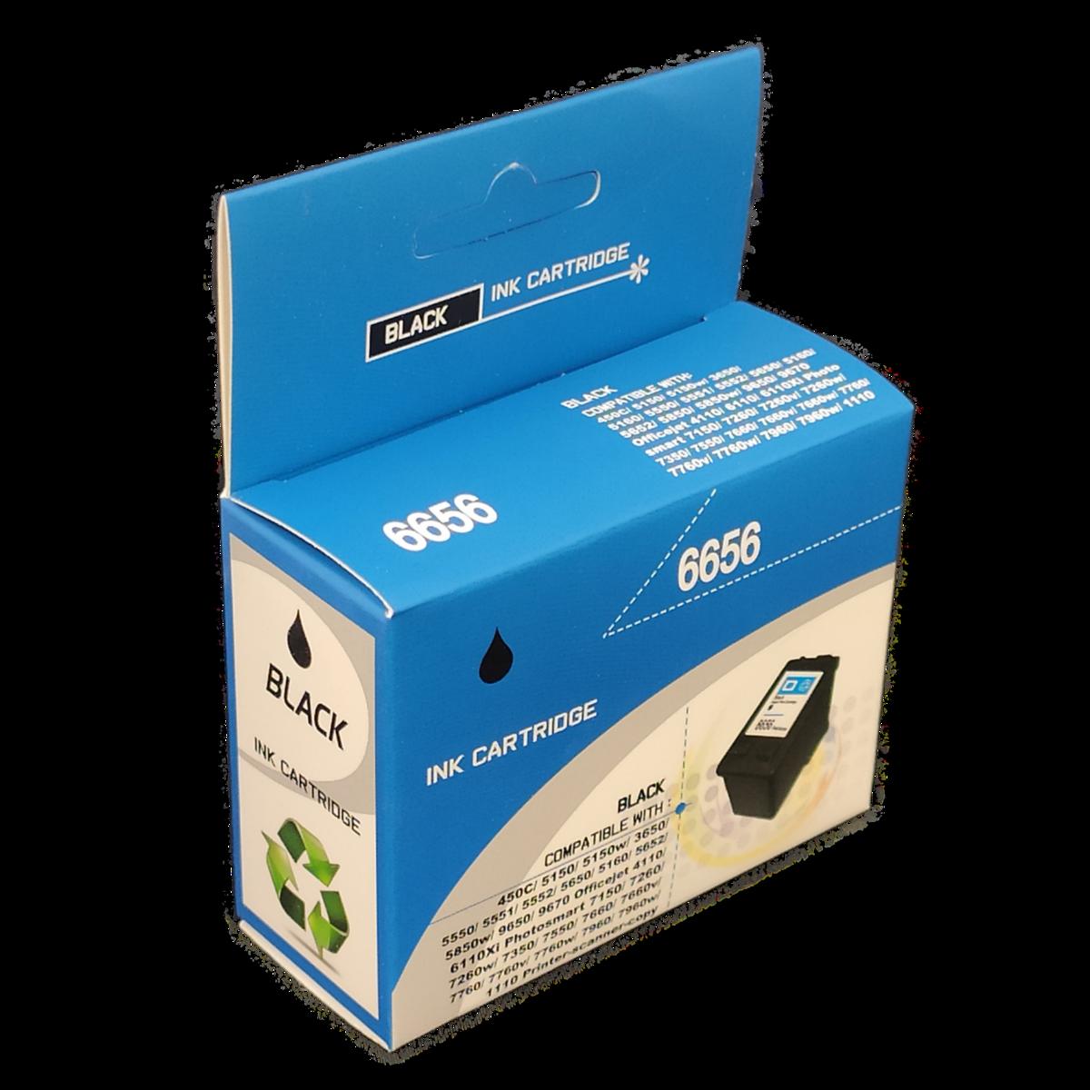 Tonery Náplně Cartridge HP 56, C6656AE kompatibilný s čipom (Čierna)