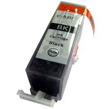 Tonery Náplně PGI-520 Bk kompatibilná kazeta s čipom 24ml (Čierna) s čipom