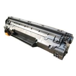 Tonery Náplně Toner Canon CRG-712, kompatibilný s čipom (Čierna)