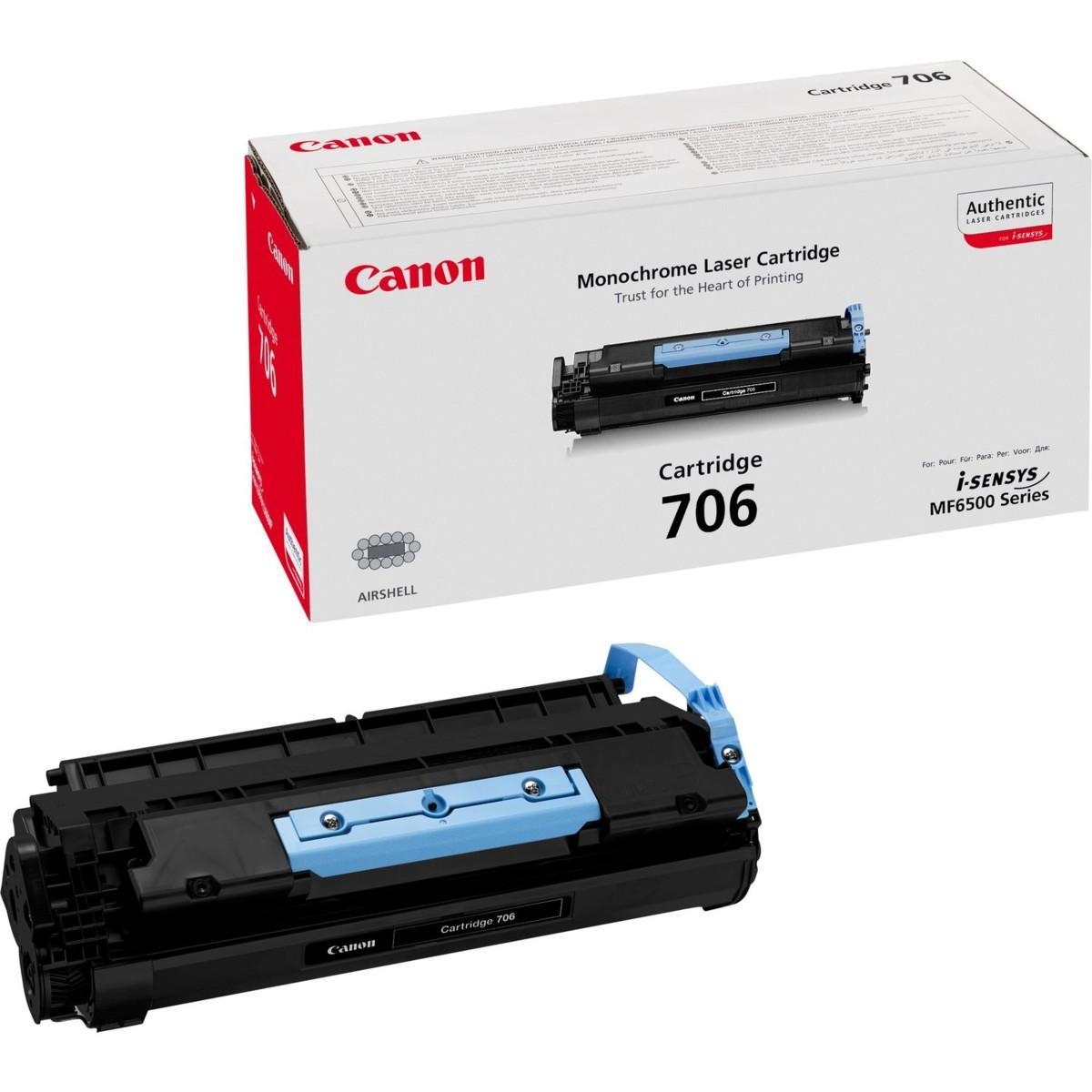 Toner Canon 706, CRG-706, 0264B002 - originálný (Čierny)