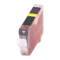 Tonery Náplně Cartridge Canon CLI-521Y kompatibilná kazeta s čipom (Žltá)
