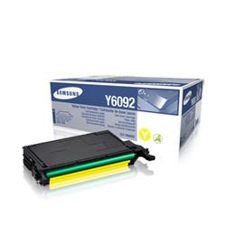 Samsung Toner Samsung CLP 770ND, yellow, CLT-Y6092S / ELS, O - originál
