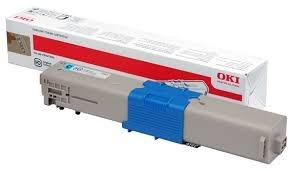 Oki Toner OKI C510, 530, cyan, 44469724, 5000s, O% - originál