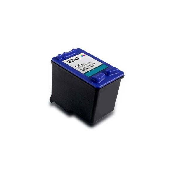 Tonery Náplně Cartridge HP 22 C9352AE kompatibilný s čipom (Farebná)