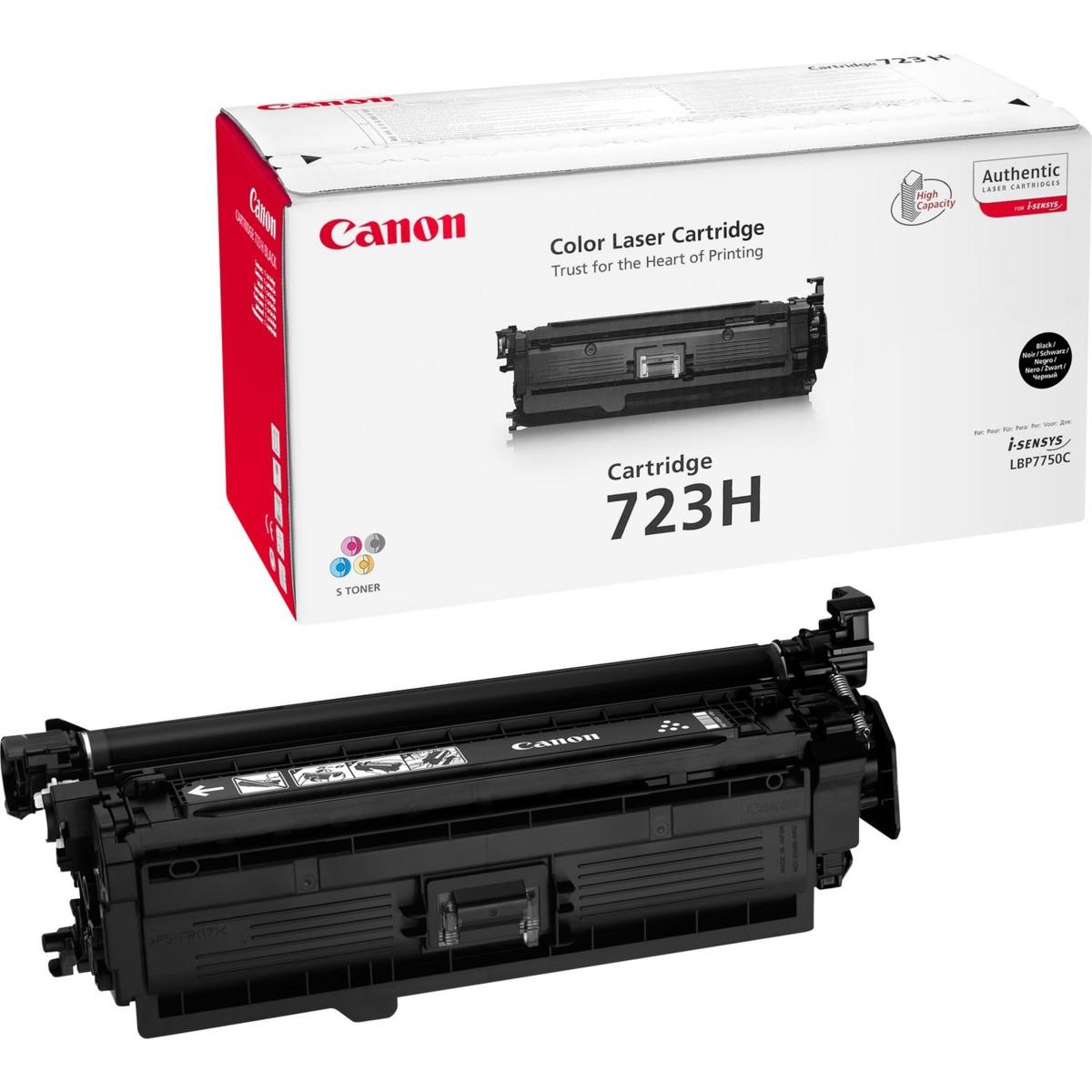 Toner Canon č.723H - CRG-723HBK, 2645B002 - originálný (Čierny)