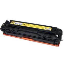 Tonery Náplně HP CE322A kompatibilná kazeta s čipom (Žltá)