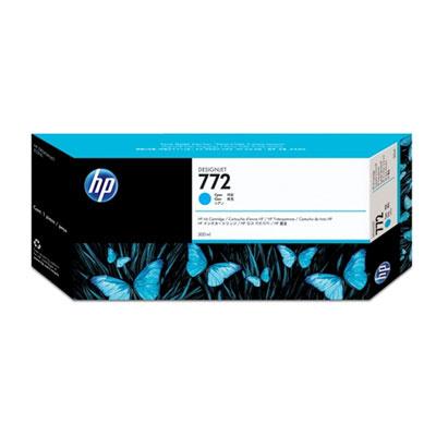HP Atramentová cartridge pre HP CN636A, cyan, 722, 300 ml, O% - originál