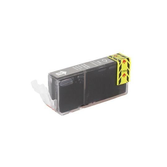 Tonery Náplně Cartridge Canon CLI-526GY kompatibilná kazeta s čipom (sivá)