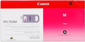 Zásobníky Canon PFI-703M, 2965B003, 3ks (Purpurové) - originálný
