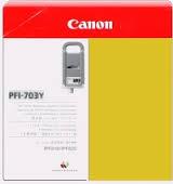 Zásobník Canon PFI-703Y, 2966B003, 3ks (Žltý) - originálný