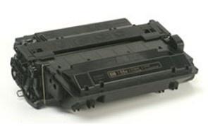 HP CE255X, kompatibilný s čipom kazeta, vlastný patent (Čierna)