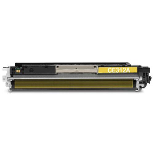 Tonery Náplně HP CE312A kompatibilná kazeta (Žltá)