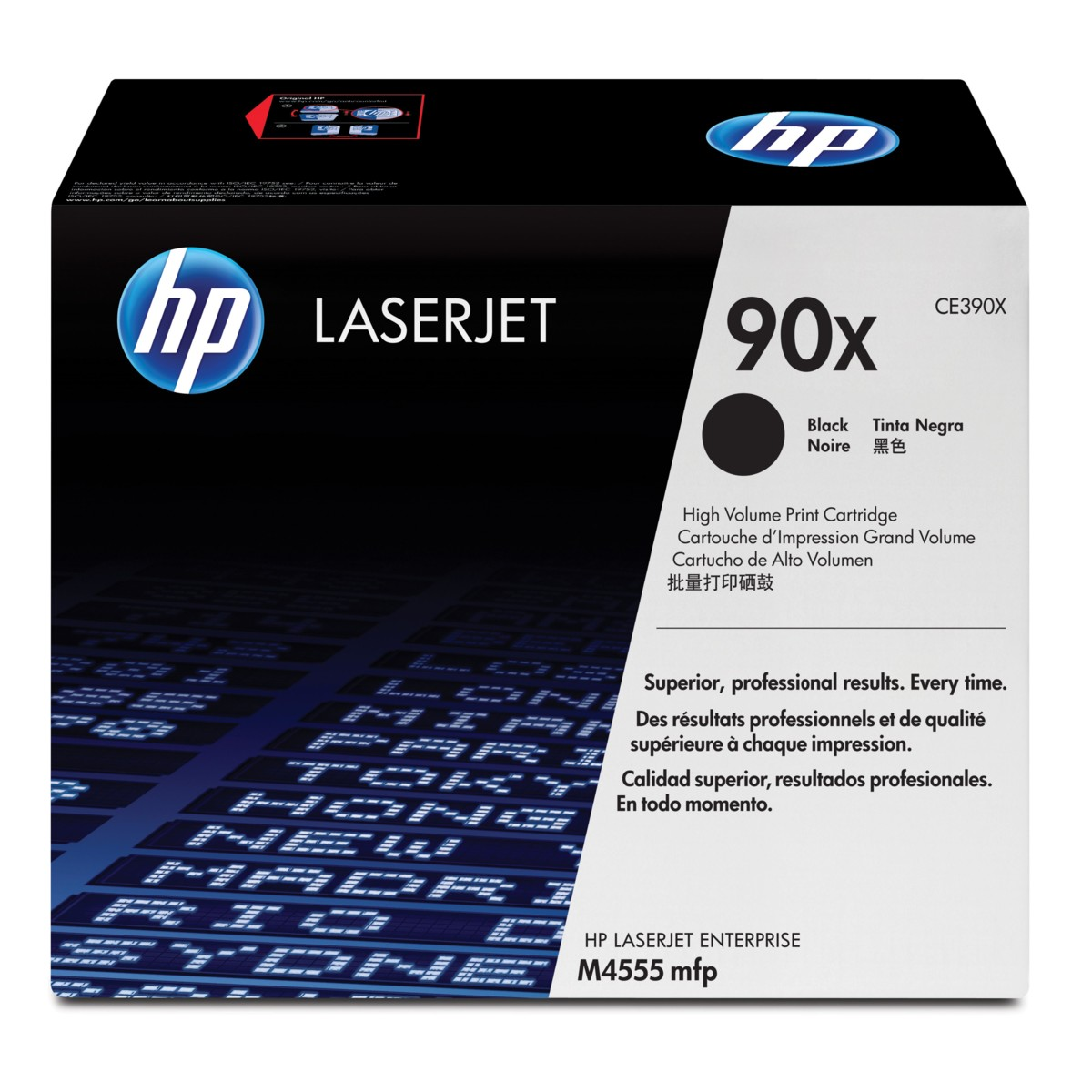 HP 90X, HP CE390X - originálný