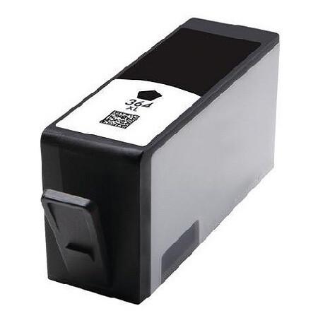 Tonery Náplně Cartridge HP CN684EE, HP 364 kompatibilná kazeta s čipom (Čierna)