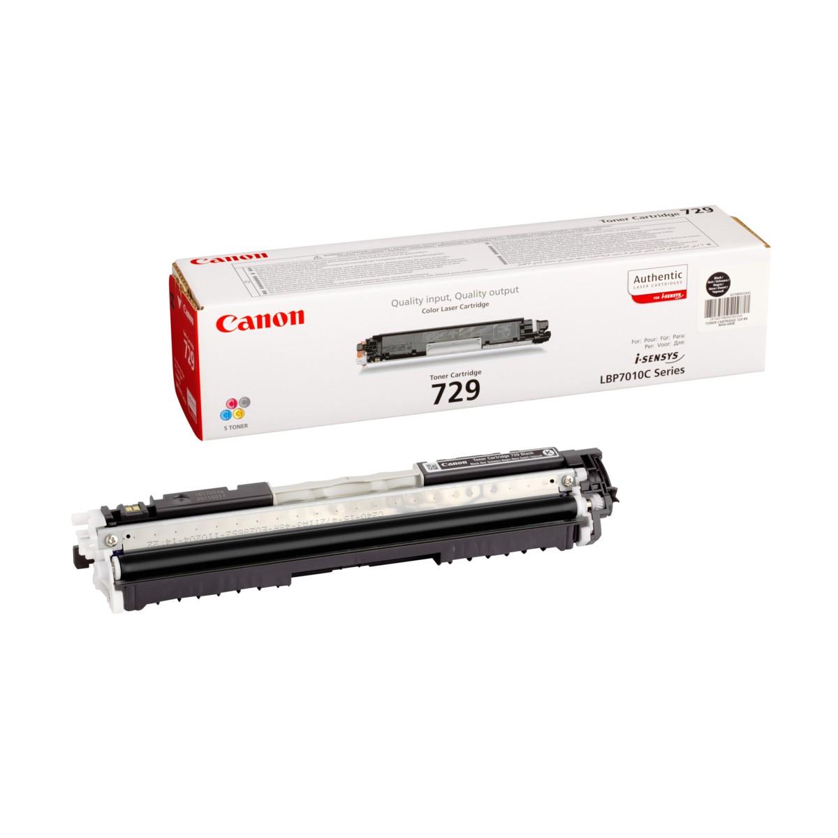 Toner Canon 729, CRG-729, 4370B002 - originálný (Čierny)