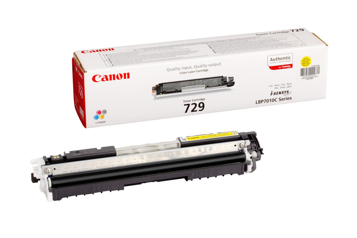 Toner Canon 729, CRG-729, 4367B002 (Žltý) - originálný