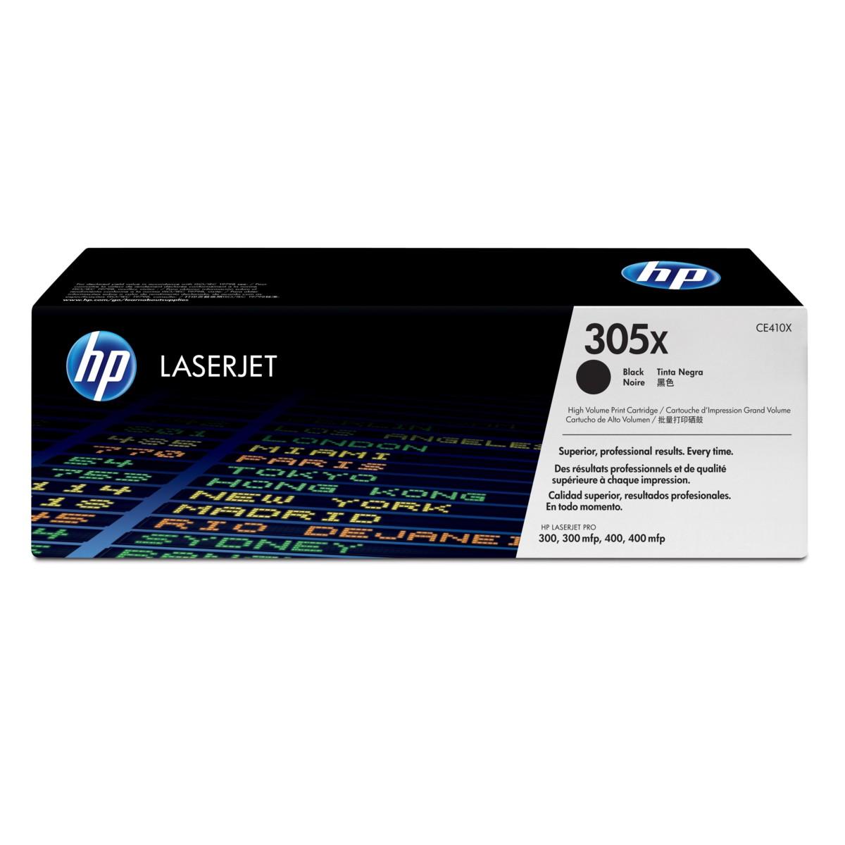 Toner HP 305X, HP CE410X - originálný (Čierny)