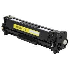 Tonery Náplně Toner HP 305A, HP CE412A, kompatibilná kazeta (Žltý)