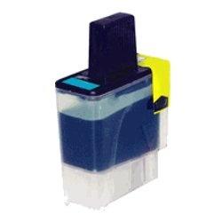 Tonery Náplně Brother LC-900C kompatibilná kazeta s čipom