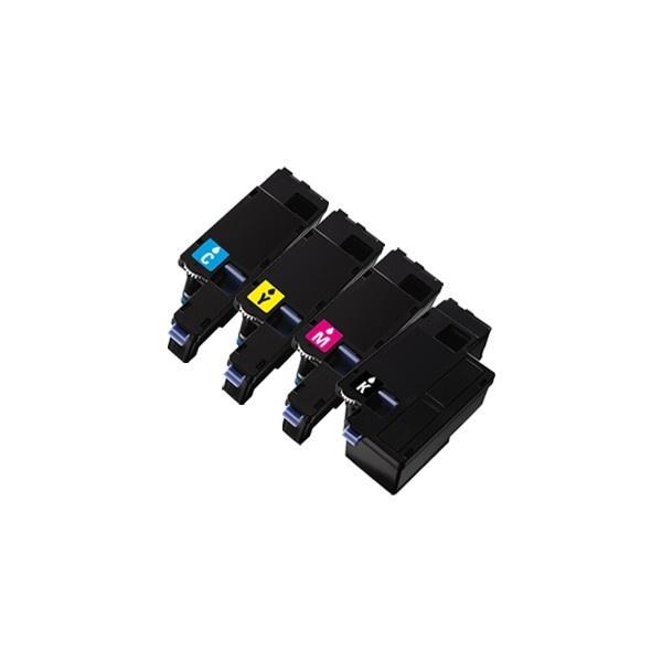 Tonery Náplně Dell 593-11021 / 593-11018 / 593-11019 / 593-11016 - kompatibilný sada XXL 1250c