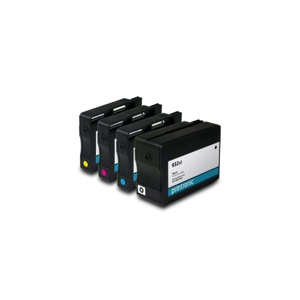 Tonery Náplně Cartridge HP 933XL, HP CN055AE kompatibilná kazeta s čipom (Purpurová)