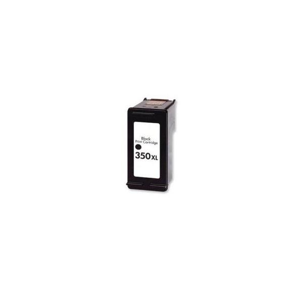 Tonery Náplně HP 350XL, HP CB336EE, kompatibilná kazeta s čipom 30ml (Čierna)