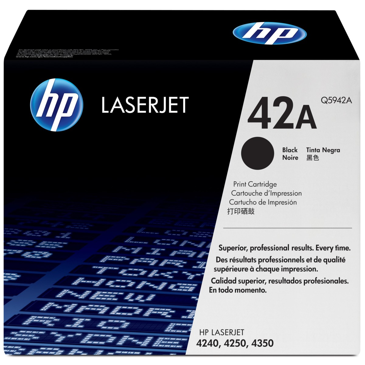 Toner HP 42A, HP Q5942A - originálný (Čierny)