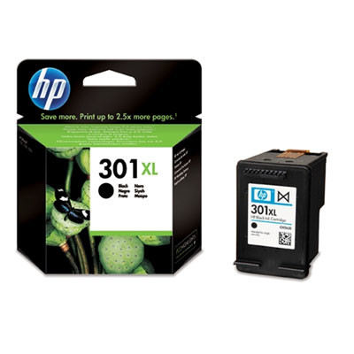 Cartridge HP 301XL, HP CH563E - originálný (Čierna)