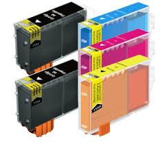 Tonery Náplně BCI-6Y kompatibilný s čipom (žltá)