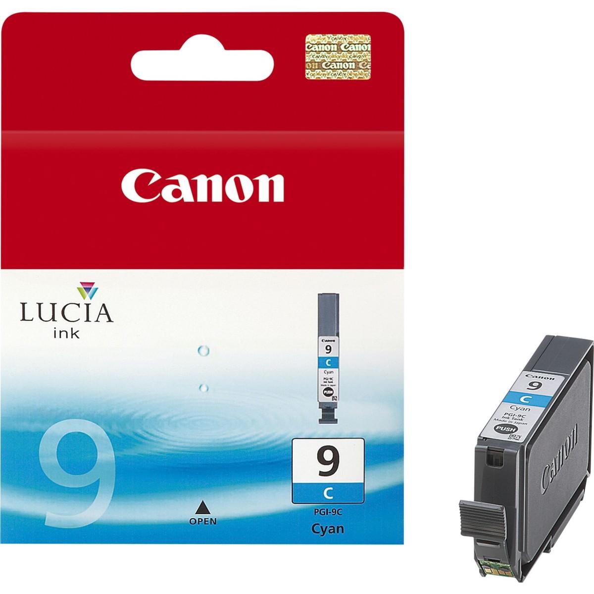 Cartridge Canon PGI-9C, 1035B001 (Azúrová) - originálný