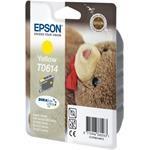 Epson T0614 Yellow 8ml pre Stylus D68 / D88 / DX3850 / DX4850 - originálne