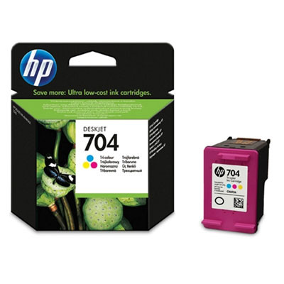 Cartridge HP 704 CN693A (Farebná) - originálný