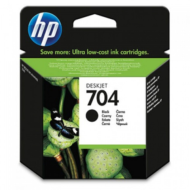 Cartridge HP 704 CN692A (Čierna) - originálný