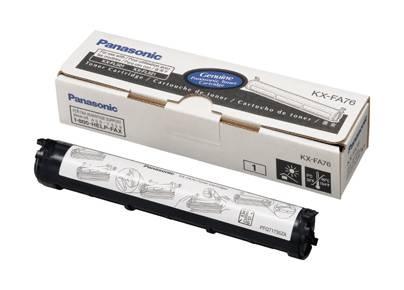 Toner Panasonic KX-FA76X (Čierny)% - originál