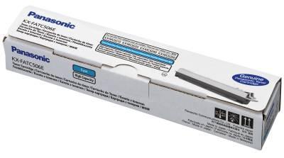 Toner Panasonic KX-FATC506E (Azúrový)% - originál