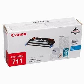 Toner Canon CRG-711, 1659B002 (Azúrový) - originálný